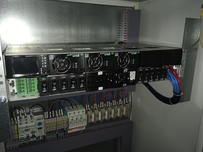 Щит постоянного тока 48В