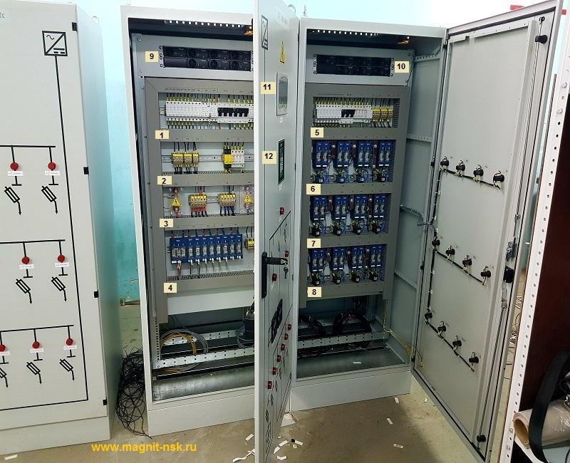 Секция щита постоянного тока - контроль изоляции постоянного тока