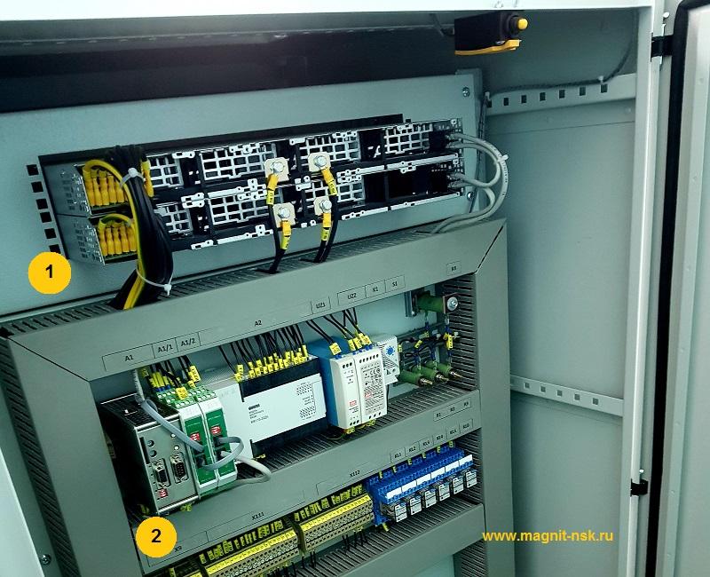Шкаф постоянного тока - контроль изоляции постоянного тока