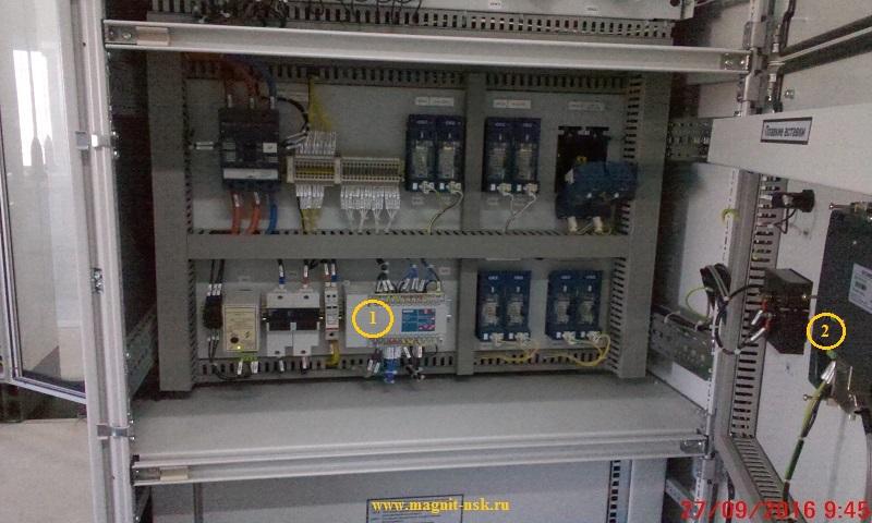 Контроль сети постоянного тока - компоновка модулей системы СЕНСОР-СМ